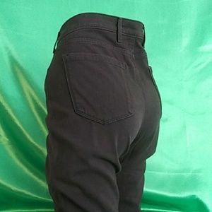 Eddie Bauer curvy skinny black jeans. Size 14